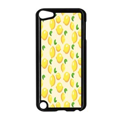 Pattern Template Lemons Yellow Apple Ipod Touch 5 Case (black)