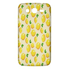 Pattern Template Lemons Yellow Samsung Galaxy Mega 5 8 I9152 Hardshell Case