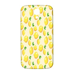 Pattern Template Lemons Yellow Samsung Galaxy S4 I9500/i9505  Hardshell Back Case