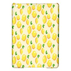 Pattern Template Lemons Yellow Ipad Air Hardshell Cases by Nexatart