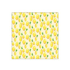 Pattern Template Lemons Yellow Satin Bandana Scarf by Nexatart