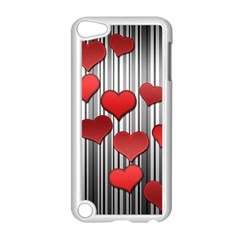 Valentines Day Pattern Apple Ipod Touch 5 Case (white) by Valentinaart