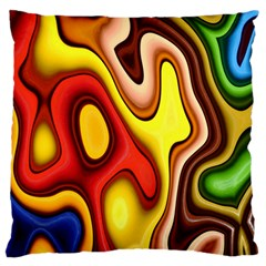 Pattern Background Structure Large Cushion Case (two Sides)