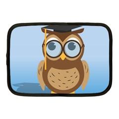 Read Owl Book Owl Glasses Read Netbook Case (medium)