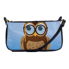 Read Owl Book Owl Glasses Read Shoulder Clutch Bags