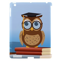 Read Owl Book Owl Glasses Read Apple Ipad 3/4 Hardshell Case (compatible With Smart Cover) by Nexatart