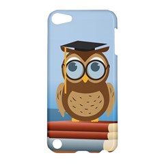 Read Owl Book Owl Glasses Read Apple Ipod Touch 5 Hardshell Case