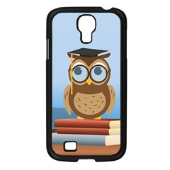 Read Owl Book Owl Glasses Read Samsung Galaxy S4 I9500/ I9505 Case (black) by Nexatart