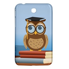 Read Owl Book Owl Glasses Read Samsung Galaxy Tab 3 (7 ) P3200 Hardshell Case