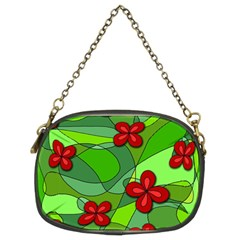 Flowers Chain Purses (two Sides)  by Valentinaart