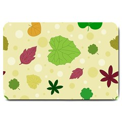 Leaves Pattern Large Doormat