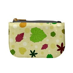 Leaves Pattern Mini Coin Purses
