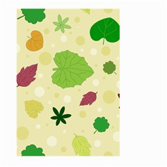Leaves Pattern Large Garden Flag (two Sides)