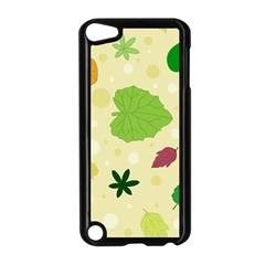 Leaves Pattern Apple Ipod Touch 5 Case (black)