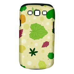 Leaves Pattern Samsung Galaxy S Iii Classic Hardshell Case (pc+silicone) by Nexatart