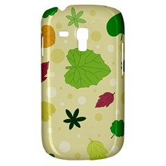 Leaves Pattern Galaxy S3 Mini by Nexatart