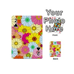 Floral Background Playing Cards 54 (mini)