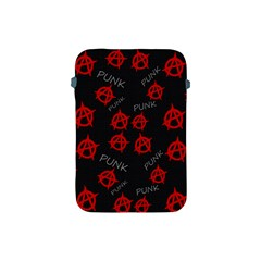 Anarchy Pattern Apple Ipad Mini Protective Soft Cases by Valentinaart