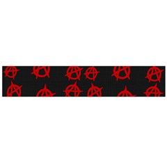 Anarchy Pattern Flano Scarf (large) by Valentinaart