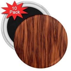 Texture Tileable Seamless Wood 3  Magnets (10 Pack)