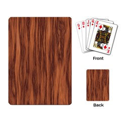 Texture Tileable Seamless Wood Playing Card by Nexatart