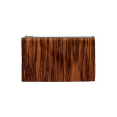 Texture Tileable Seamless Wood Cosmetic Bag (small)