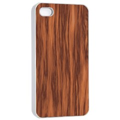 Texture Tileable Seamless Wood Apple Iphone 4/4s Seamless Case (white)