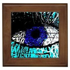 Blue Eye Framed Tiles