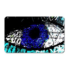 Blue Eye Magnet (rectangular) by Valentinaart