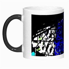 Blue Eye Morph Mugs by Valentinaart