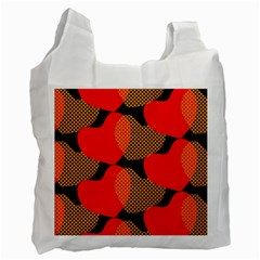 Heart Pattern Recycle Bag (two Side)  by Nexatart
