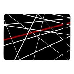 Lines Samsung Galaxy Tab Pro 10 1  Flip Case by Valentinaart