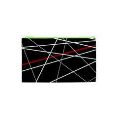 Lines Cosmetic Bag (xs) by Valentinaart