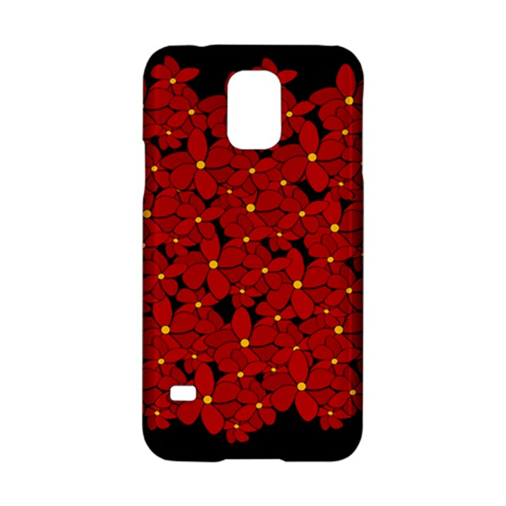 Red bouquet  Samsung Galaxy S5 Hardshell Case