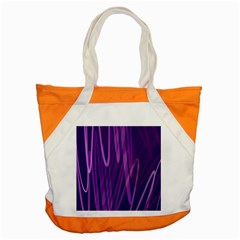 The Background Design Accent Tote Bag