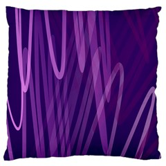 The Background Design Large Cushion Case (Two Sides) by Nexatart