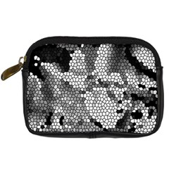 Mosaic Stones Glass Pattern Digital Camera Cases by Nexatart