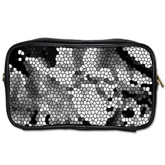 Mosaic Stones Glass Pattern Toiletries Bags