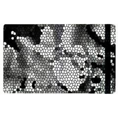 Mosaic Stones Glass Pattern Apple Ipad 2 Flip Case
