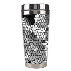 Mosaic Stones Glass Pattern Stainless Steel Travel Tumblers