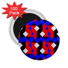 Pattern Abstract Artwork 2 25  Magnets (100 Pack)