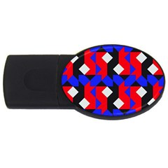 Pattern Abstract Artwork Usb Flash Drive Oval (2 Gb)