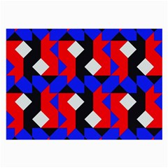 Pattern Abstract Artwork Large Glasses Cloth (2 Side)