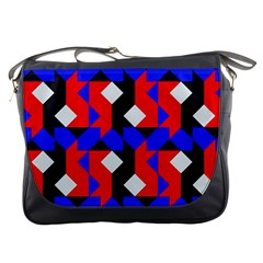 Pattern Abstract Artwork Messenger Bags