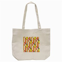 Retro Blocks Tote Bag (cream)