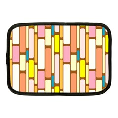 Retro Blocks Netbook Case (medium)