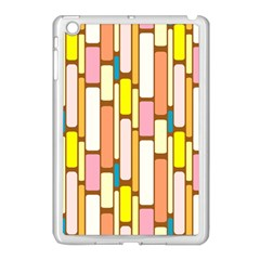 Retro Blocks Apple Ipad Mini Case (white)