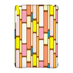 Retro Blocks Apple Ipad Mini Hardshell Case (compatible With Smart Cover)