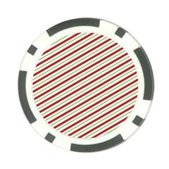 Stripes Poker Chip Card Guard (10 Pack) by Nexatart