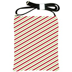 Stripes Shoulder Sling Bags by Nexatart